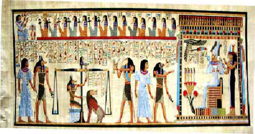 El Libro de los Muerto: La ceremonia de Apertura de la Boca