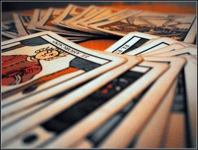 Limpieza y purificación de las cartas