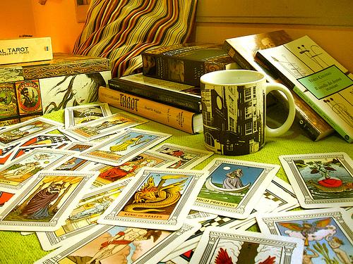 Combinaciones con cartas de tarot